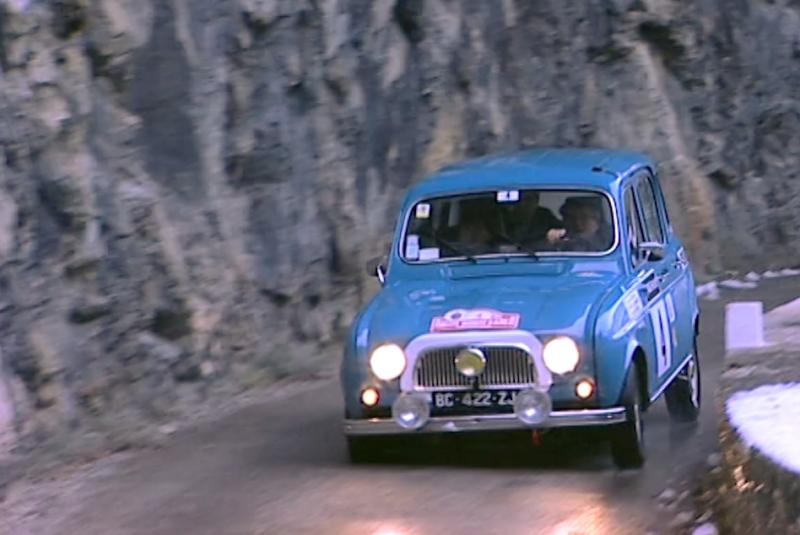 Les 4L au Monte-Carlo Historique – Documentaire Auto Rétro