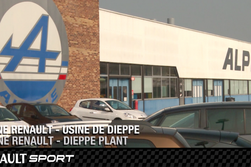 Renault Sport – Presentation Alpine factory in Dieppe