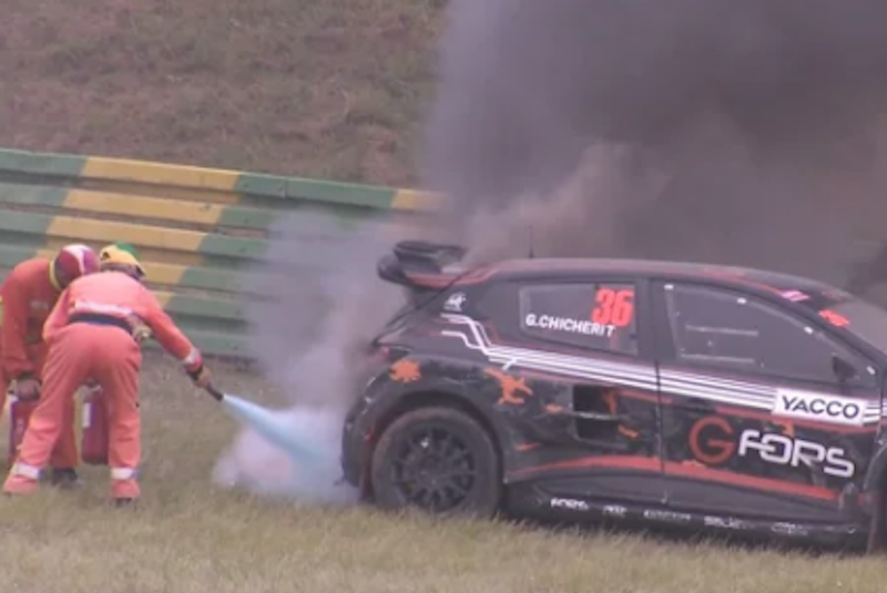 RX France : Best-of Crashes !