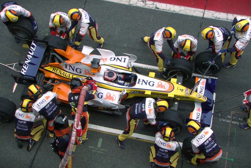 Inspired Performance – Renault F1 Team 2007 Promo Clip