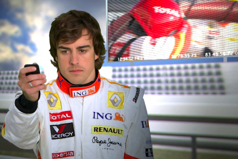 The Feel It Game – Renault F1 Team 2009 Promo Clip